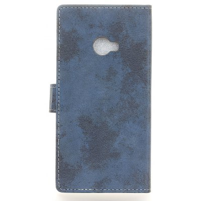 Duurzame Vintage Style Solid Color Flip PU Leather Wallet Case voor Xiaomi Mi Note 2