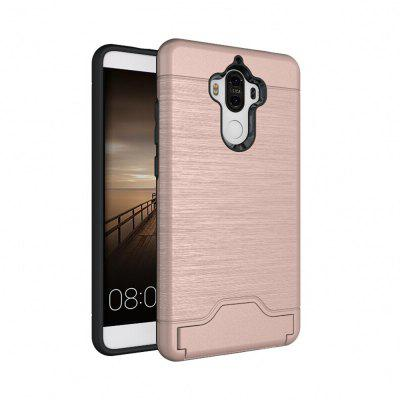 Buy ROSE GOLD Shockproof Convenient One Card Slot Hard Back Case for Huawei Ascend Mate 9 for $3.98 in GearBest store