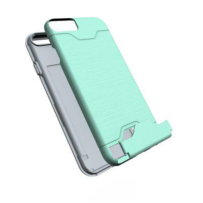 Shockproof Convenient One Card Slot Hard Back Case for iPhone 6SiPhone Cases/Covers<br>Shockproof Convenient One Card Slot Hard Back Case for iPhone 6S<br><br>Features: Back Cover, With Credit Card Holder<br>Material: PU<br>Package Contents: 1 x Shockproof Back Case<br>Package size (L x W x H): 10.00 x 10.00 x 5.00 cm / 3.94 x 3.94 x 1.97 inches<br>Package weight: 0.0500 kg<br>Product weight: 0.0300 kg<br>Style: Solid Color