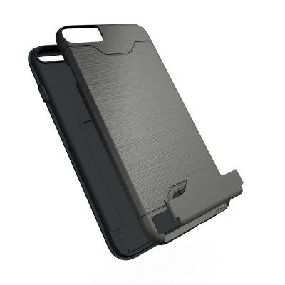 Shockproof Convenient One Card Slot Hard Back Case for iPhone 6S PlusiPhone Cases/Covers<br>Shockproof Convenient One Card Slot Hard Back Case for iPhone 6S Plus<br><br>Features: With Credit Card Holder, Back Cover, With Credit Card Holder<br>Material: PU, PU<br>Package Contents: 1 x Shockproof Back Case, 1 x Shockproof Back Case<br>Package size (L x W x H): 10.00 x 10.00 x 5.00 cm / 3.94 x 3.94 x 1.97 inches, 10.00 x 10.00 x 5.00 cm / 3.94 x 3.94 x 1.97 inches<br>Package weight: 0.0500 kg, 0.0500 kg<br>Product weight: 0.0300 kg, 0.0300 kg<br>Style: Solid Color, Solid Color