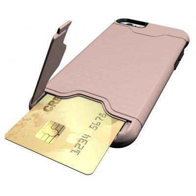 Shockproof Convenient One Card Slot Hard Back Case for iPhone 6S Plus