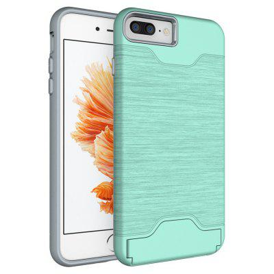 Shockproof Convenient One Card Slot Hard Back Case for iPhone 7 Plus