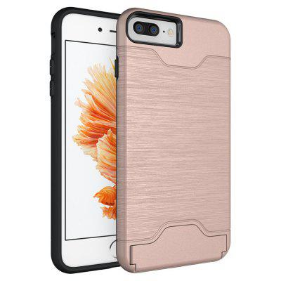 Shockproof Convenient One Card Slot Hard Back Case for iPhone 8 Plus