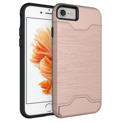 Shockproof Convenient One Card Slot Hard Back Case for iPhone 7