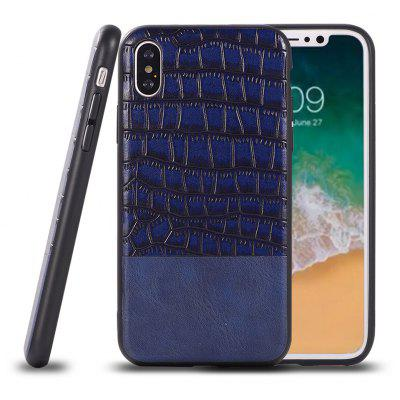 Crocodile Pattern Ultra-Thin Back Case for iPhone x