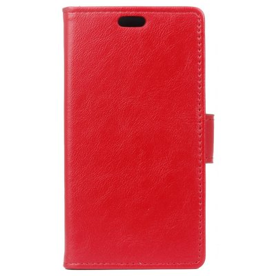 Buy RED KaZiNe Luxury PU Leather Silicon Magnetic Dirt Resistant Phone Bags Cases for HuaWei P9 for $4.40 in GearBest store
