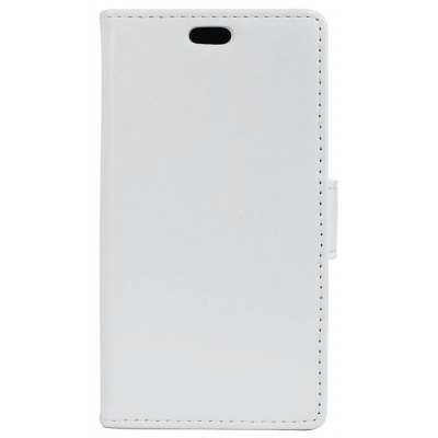Buy WHITE KaZiNe Luxury PU Leather Silicon Magnetic Dirt Resistant Phone Bags Cases for HuaWei P9 for $4.40 in GearBest store