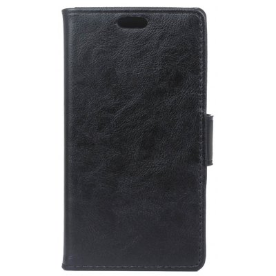 Buy KaZiNe Luxury PU Leather Silicon Magnetic Dirt Resistant Phone Bags Cases for HuaWei honor 5C BLACK for $2.92 in GearBest store