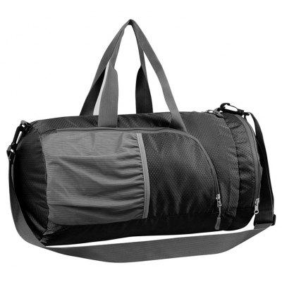 Buy BLACK Superlight Promotional Polyester Travel Waterproof Duffel Bag for $16.07 in GearBest store