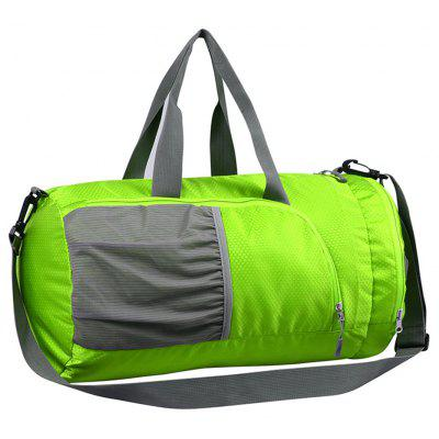Buy GREEN Superlight Promotional Polyester Travel Waterproof Duffel Bag for $16.07 in GearBest store