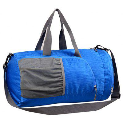 Buy BLUE Superlight Promotional Polyester Travel Waterproof Duffel Bag for $16.07 in GearBest store