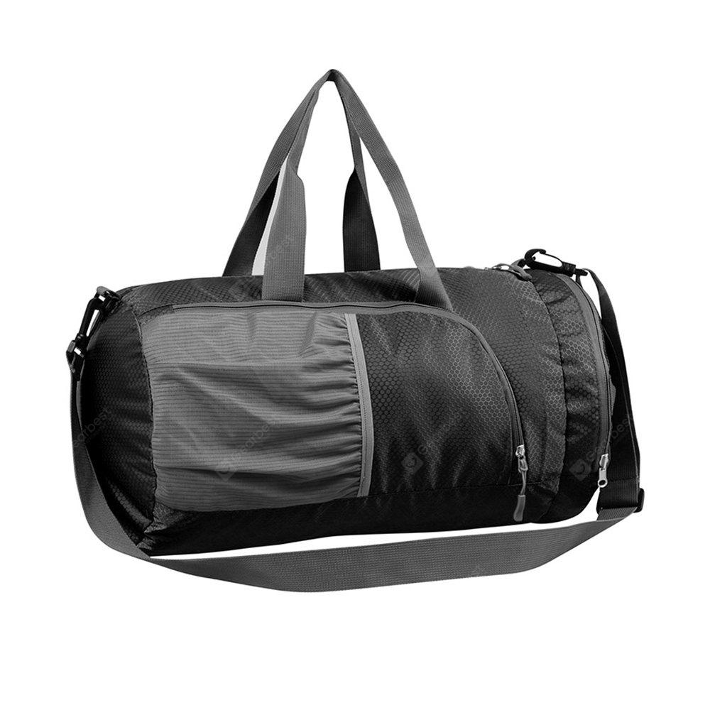 BLACK Superlight Promotional Polyester Travel Waterproof Duffel Bag