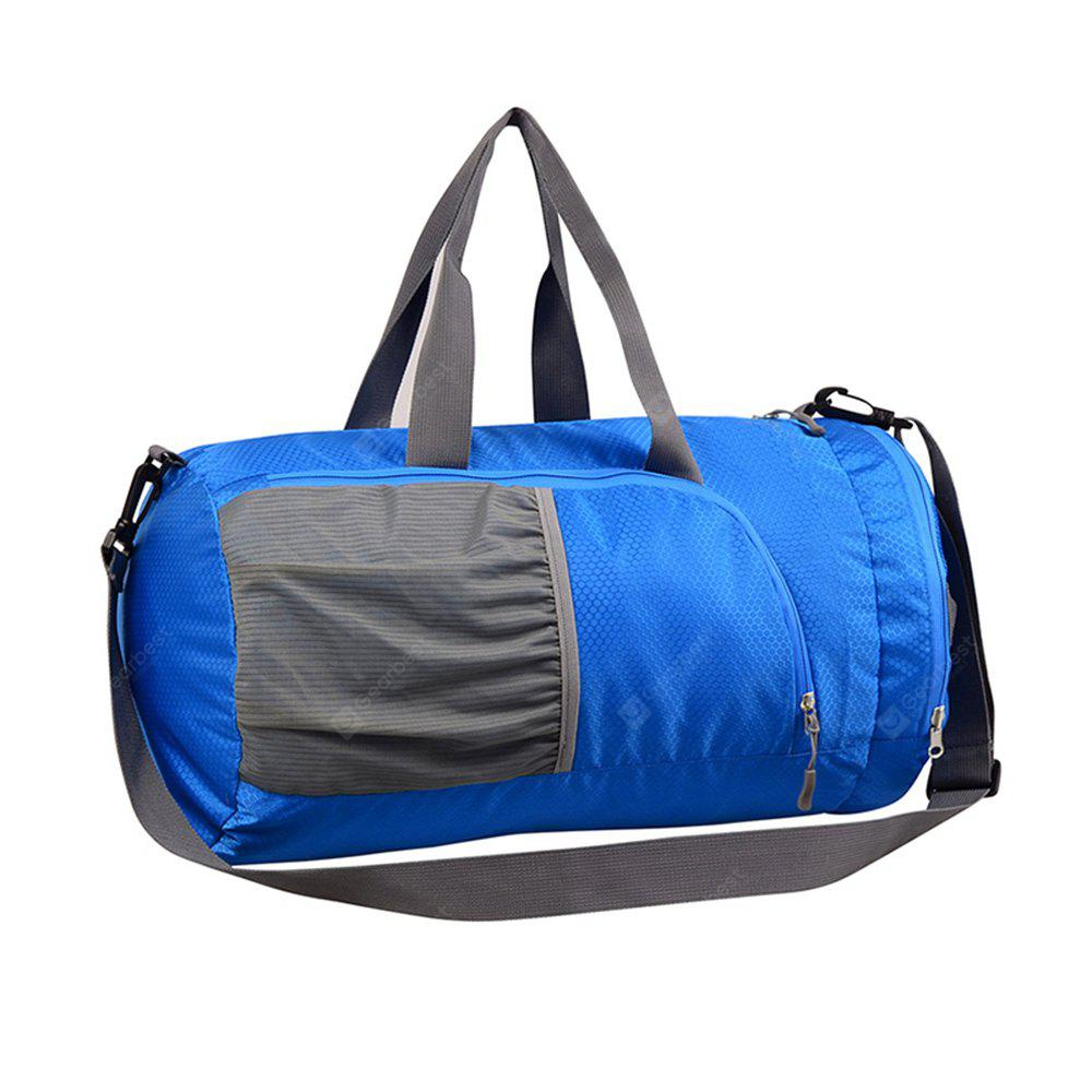 BLUE Superlight Promotional Polyester Travel Waterproof Duffel Bag