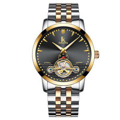 IKCOLOURING K016 4588 Contracted Steel Band Male Watch