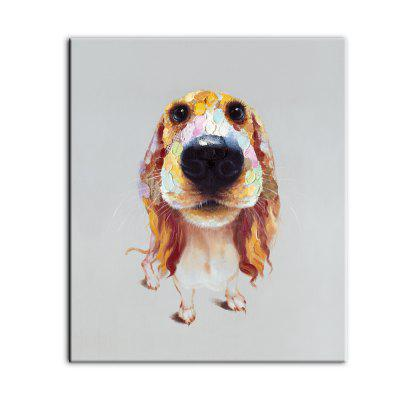 Yhhp Hand-Painted High-Definition Long Ears Dog Pictures To Print Simulation Oil Painting Wall Art On Canvas UnframedPrints<br>Yhhp Hand-Painted High-Definition Long Ears Dog Pictures To Print Simulation Oil Painting Wall Art On Canvas Unframed<br><br>Brand: YHHP<br>Craft: Print<br>Form: One Panel<br>Material: Canvas<br>Package Contents: 1 x Panel of Print<br>Package size (L x W x H): 62.00 x 5.00 x 5.00 cm / 24.41 x 1.97 x 1.97 inches<br>Package weight: 0.2000 kg<br>Painting: Without Inner Frame<br>Product size (L x W x H): 60.00 x 70.00 x 1.00 cm / 23.62 x 27.56 x 0.39 inches<br>Product weight: 0.1500 kg<br>Shape: Vertical<br>Style: Modern Style<br>Subjects: Animal<br>Suitable Space: Living Room,Kids Room,Study Room / Office