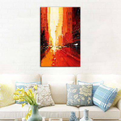 Yhhp Hand-Painted High-Definition Abstract Decorative Pictures To Print Simulation Oil Painting Wall Art On Canvas Unfra