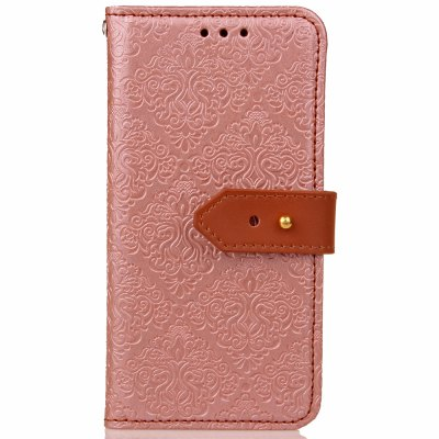 Yc European Style Card Lanyard Pu Leather Case for Samsung A320