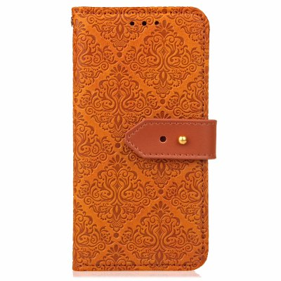 Yc European Style Card Lanyard Pu Leather Case for Samsung A520