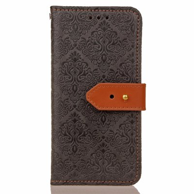 Yc European Style Card Lanyard Pu Leather Case for Samsung J5 Prime