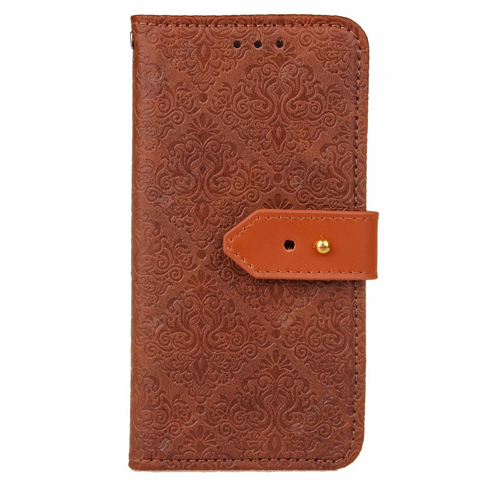 Yc European Style Card Lanyard Pu Leather Case for Samsung J7 Prime