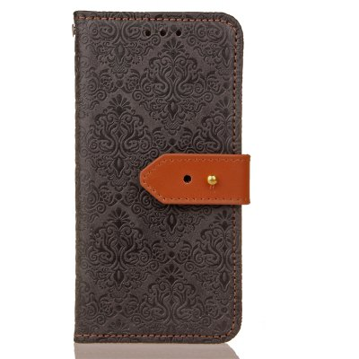 Yc European Style Card Lanyard Pu Leather Case for Huawei P8 Lite 2017