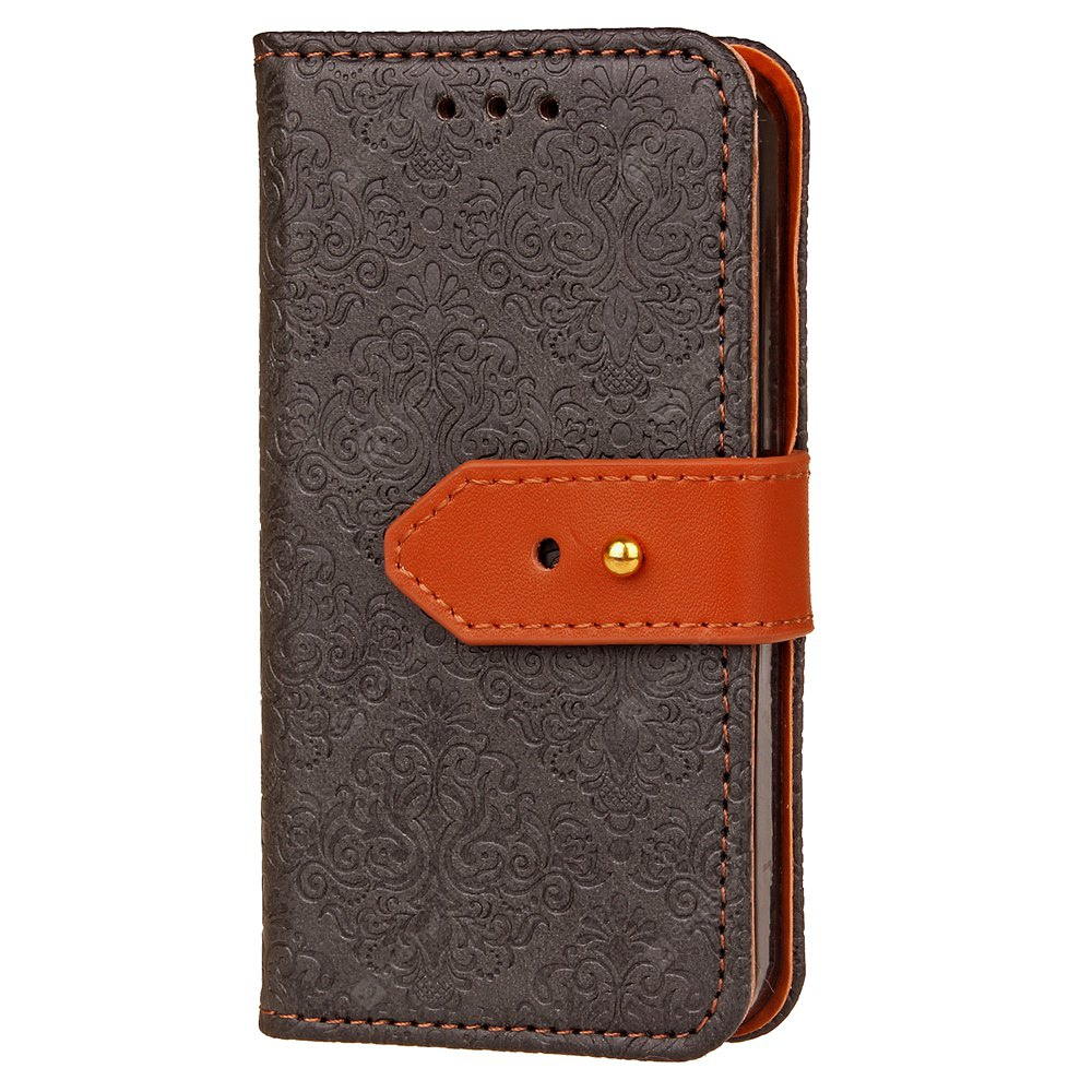 Yc European Style Card Lanyard Pu Leather for Iphone 4 4S