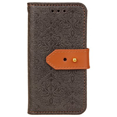 Yc European Style Card Lanyard Pu Leather for Iphone 5S 5C