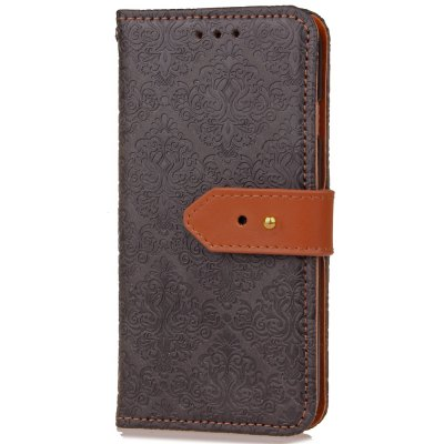Yc European Style Card Lanyard Pu Leather for iPhone 6 Plus