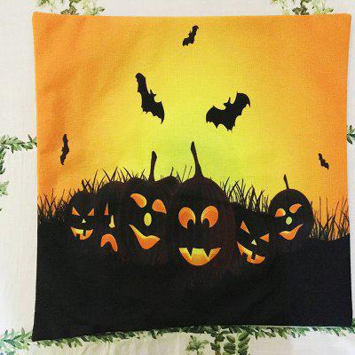 Halloween Pumpkin bat Square Linen Decorative Throw Pillow Case Cushion CoverPillow<br>Halloween Pumpkin bat Square Linen Decorative Throw Pillow Case Cushion Cover<br><br>Category: Pillow Case<br>Color: Others<br>For: All<br>Material: Linen<br>Occasion: Living Room, Bedroom<br>Package Contents: Pillow Cover 1<br>Package size (L x W x H): 45.00 x 23.00 x 1.00 cm / 17.72 x 9.06 x 0.39 inches<br>Package weight: 0.0930 kg<br>Product size (L x W x H): 45.00 x 45.00 x 0.30 cm / 17.72 x 17.72 x 0.12 inches<br>Product weight: 0.0900 kg<br>Type: Novelty, Entertainment, Decoration