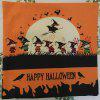 Halloween Witches Squad Coven Cuadrado Lino Decorativo Throw almohada Funda de cojín - COLORIDO