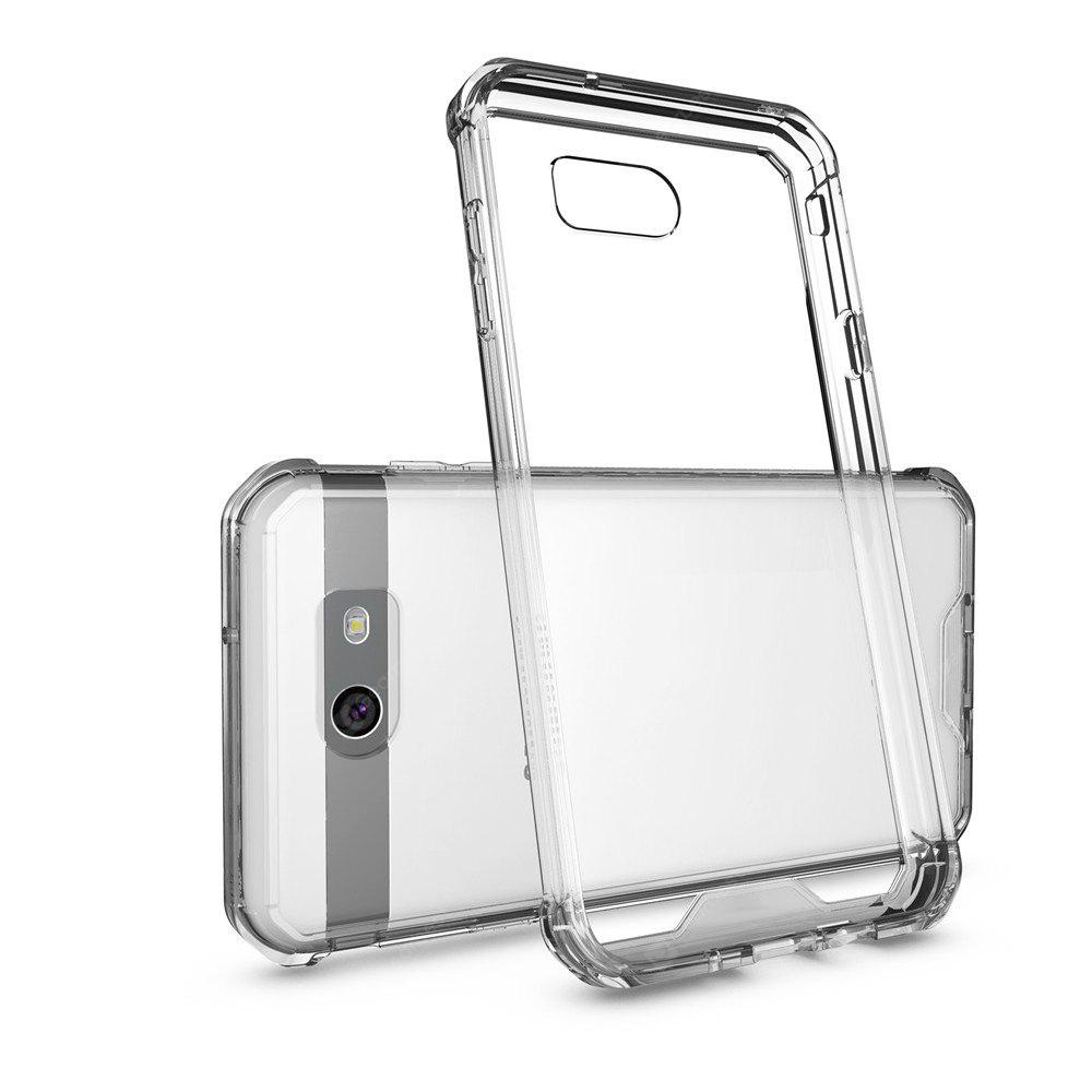 Transparent Surface Shockproof Back PC Case for Samsung Galaxy J7 2017 (America Edition)
