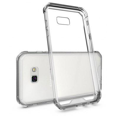 Transparent Surface Shockproof Back PC Case for Samsung Galaxy A7 2017