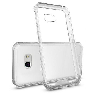 Transparent Surface Shockproof Back PC Case for Samsung Galaxy A5 2017
