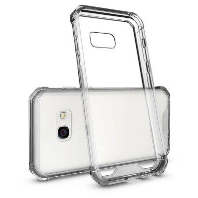 Transparent Surface Shockproof Back PC Case for Samsung Galaxy A3 2017