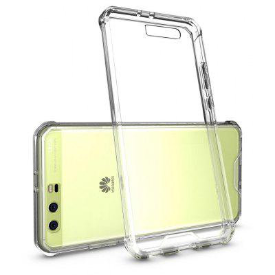 Buy TRANSPARENT Transparent Surface Shockproof Back PC Case for Huawei P10 Plus for $4.18 in GearBest store