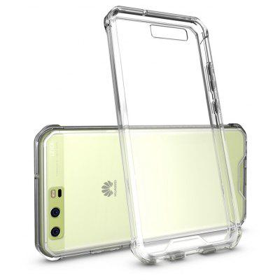 Buy TRANSPARENT Transparent Surface Shockproof Back PC Case for Huawei P10 for $4.18 in GearBest store