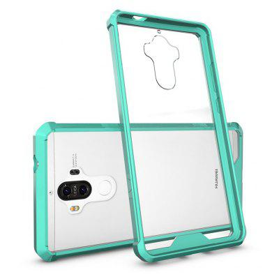 Buy GREEN Transparent Surface Shockproof Back PC Case for Huawei Ascend Mate 9 for $4.18 in GearBest store