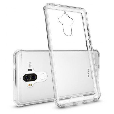 Buy TRANSPARENT Transparent Surface Shockproof Back PC Case for Huawei Ascend Mate 9 for $4.18 in GearBest store