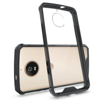 Buy BLACK Transparent Surface Shockproof Back PC Case for Motorola Moto G5S for $4.18 in GearBest store