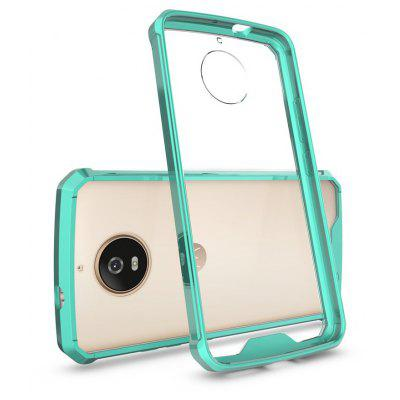 Buy GREEN Transparent Surface Shockproof Back PC Case for Motorola Moto G5S for $4.18 in GearBest store