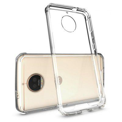 Buy TRANSPARENT Transparent Surface Shockproof Back PC Case for Motorola Moto G5S Plus for $4.18 in GearBest store