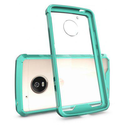 Buy GREEN Transparent Surface Shockproof Back PC Case for Motorola Moto G5 for $4.18 in GearBest store