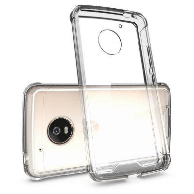 Buy TRANSPARENT Transparent Surface Shockproof Back PC Case for Motorola Moto G5 for $4.18 in GearBest store