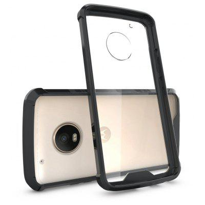 Transparent Surface Shockproof Back PC Case for Motorola Moto G5 Plus