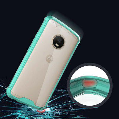 Transparent Surface Shockproof Back PC Case for Motorola Moto G5 PlusCases &amp; Leather<br>Transparent Surface Shockproof Back PC Case for Motorola Moto G5 Plus<br><br>Package Contents: 1 x Shockproof Back Case<br>Package size (L x W x H): 10.00 x 10.00 x 5.00 cm / 3.94 x 3.94 x 1.97 inches<br>Package weight: 0.0500 kg<br>Product weight: 0.0300 kg