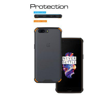 Transparent Surface Shockproof Back PC Case for OnePlus 5Cases &amp; Leather<br>Transparent Surface Shockproof Back PC Case for OnePlus 5<br><br>Package Contents: 1 x Shockproof Back Case<br>Package size (L x W x H): 10.00 x 10.00 x 5.00 cm / 3.94 x 3.94 x 1.97 inches<br>Package weight: 0.0500 kg<br>Product weight: 0.0300 kg