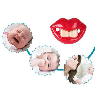 A Red Lip Baby Pacifiers The PacifierFeeding<br>A Red Lip Baby Pacifiers The Pacifier<br><br>Material: Silicone<br>Package Contents: 1 x Pacifier<br>Package Size ( L x W x H ): 15.00 x 10.00 x 15.00 cm / 5.91 x 3.94 x 5.91 inches<br>Package weight: 0.0500 kg<br>Packaging: Single loaded<br>Suitable Age: Above 0 month