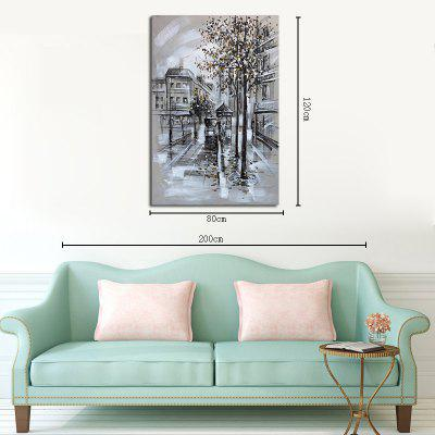 Hx-Art No Frame Canvas Grey Abstract Street Living Room Hallway Decoration PaintingsPrints<br>Hx-Art No Frame Canvas Grey Abstract Street Living Room Hallway Decoration Paintings<br><br>Brand: Qiaojiahuayuan<br>Craft: Print<br>Form: One Panel<br>Material: Canvas<br>Package Contents: 1 x Print<br>Package size (L x W x H): 82.00 x 5.00 x 5.00 cm / 32.28 x 1.97 x 1.97 inches<br>Package weight: 0.3000 kg<br>Painting: Without Inner Frame<br>Shape: Vertical Panoramic<br>Style: Art Deco, Scenic<br>Subjects: Landscape<br>Suitable Space: Bedroom,Living Room