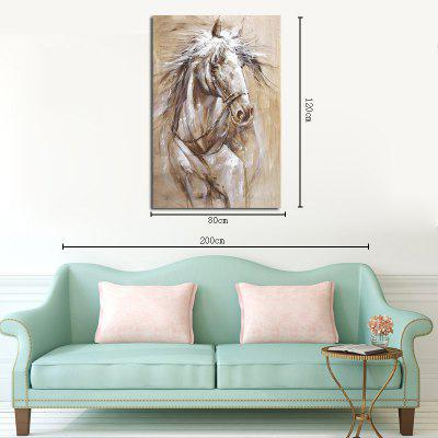 Hx-Art No Frame Canvas Animals Minimalist Living Room Office Decorated Horse-2Prints<br>Hx-Art No Frame Canvas Animals Minimalist Living Room Office Decorated Horse-2<br><br>Brand: Qiaojiahuayuan<br>Craft: Print<br>Form: One Panel<br>Material: Canvas<br>Package Contents: 1 x Print<br>Package size (L x W x H): 82.00 x 5.00 x 5.00 cm / 32.28 x 1.97 x 1.97 inches<br>Package weight: 0.3000 kg<br>Painting: Without Inner Frame<br>Shape: Vertical Panoramic<br>Style: Chinese Style, Classic, Animal<br>Subjects: Animal<br>Suitable Space: Bedroom,Living Room,Study Room / Office