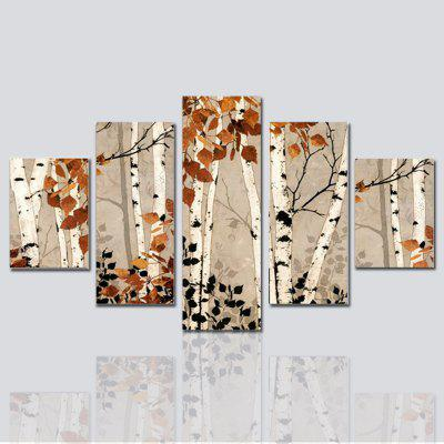Hx-Art No Frame Canvas-47 Five-Set Painting Living Room Decoration Paintings